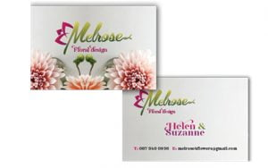 Business card design sample, Print Chain Portmarnock